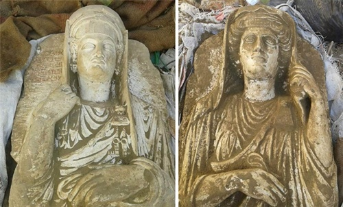 Kẻ buôn cổ vật tiết lộ về mạng lưới xẻ thịt di sản của IS 3