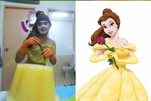 Nàng Belle này chắc chắn sẽ khiến quái vật phải chạy dài.