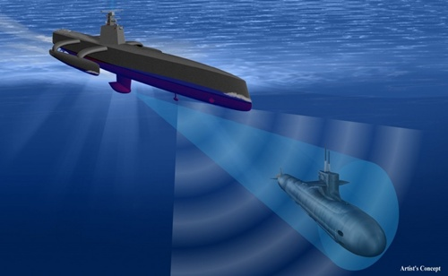 Thợ săn Biển - tàu săn ngầm không người lái đầu tiên của Mỹ 2