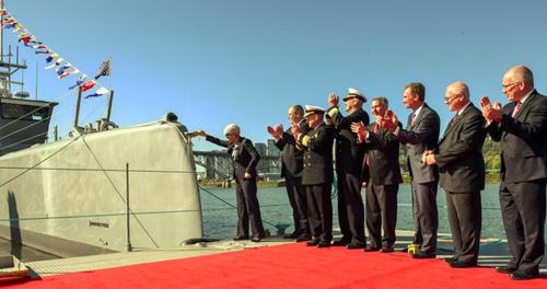 Thợ săn Biển - tàu săn ngầm không người lái đầu tiên của Mỹ 1