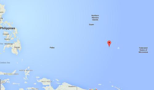 Vị trí đảo Fanadik (màu đỏ). Đồ hoạ: Googlemaps