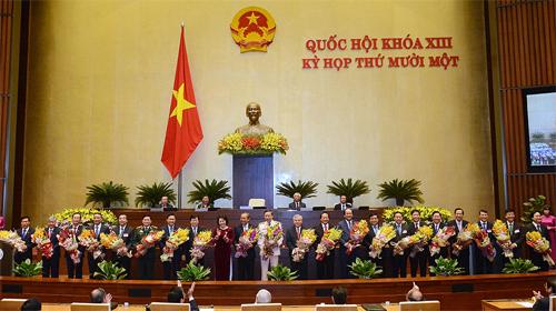 Chính phủ có 3 Phó thủ tướng, 18 bộ trưởng mới 1