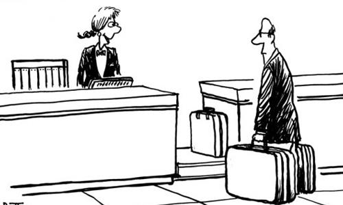 Bí mật trong hành lý của một doanh nhân