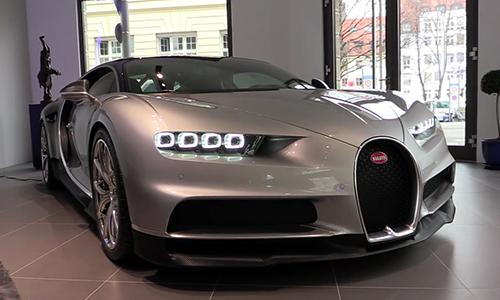 Bugatti Chiron giá 2,6 triệu USD màu lạ 1
