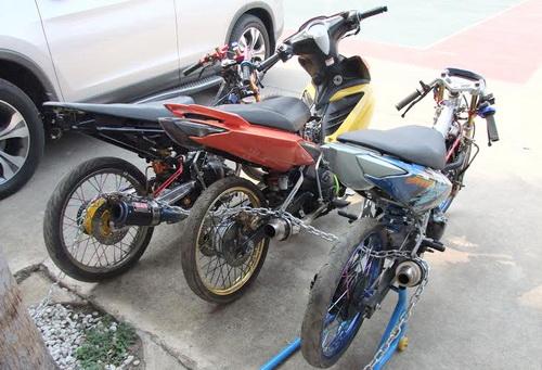 Ba xe cọp bị công an Đồng Nai bắt giữ. Ảnh: Báo Đồng Nai
