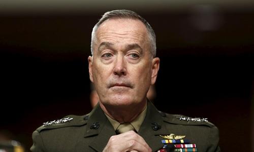 Tướng Joseph Dunford, Chủ tịch Hội đồng Tham mưu trưởng liên quân Mỹ. Ảnh: Reuters.