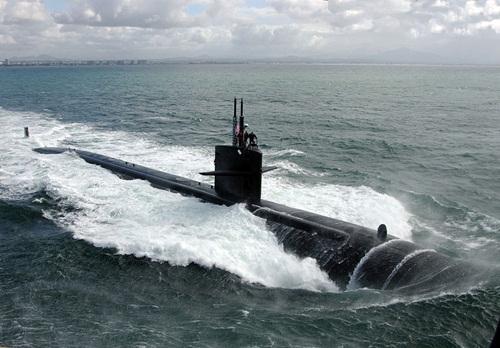 Tàu ngầm tấn công nhanh lớp Los Angeles của hải quân Mỹ. Ảnh: Wikipedia