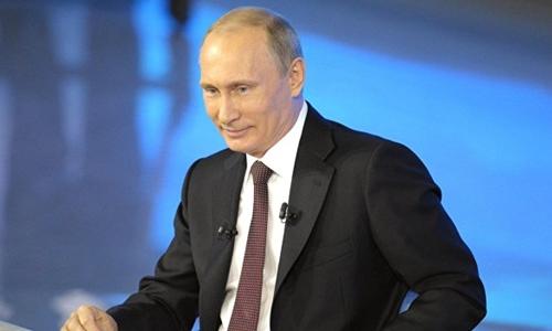 Putin và những khoảnh khắc hài hước khi đối thoại trực tuyến 1