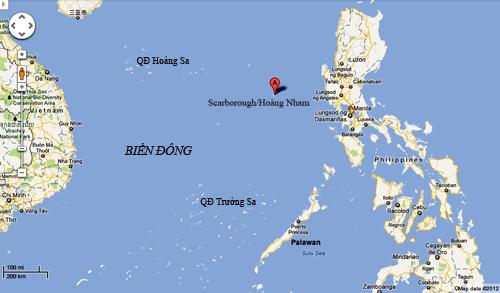 Điểm nóng đối đầu Mỹ - Trung mới trên Biển Đông 3
