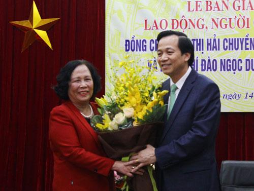 """Bộ trưởng Đào Ngọc Dung: """"Chúng ta đang nợ dân rất nhiều"""" 1"""