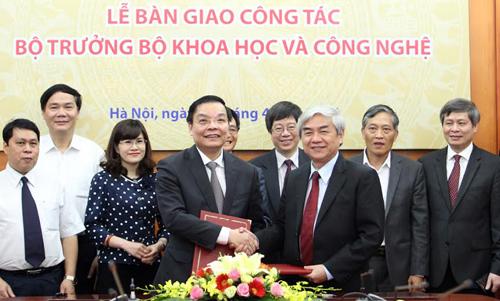 """Bộ trưởng Khoa học Chu Ngọc Anh: """"Sẽ nỗ lực với trách nhiệm cao nhất"""" 1"""