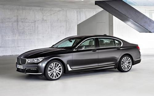 BMW serie 7 2016 lỗi túi khí 1