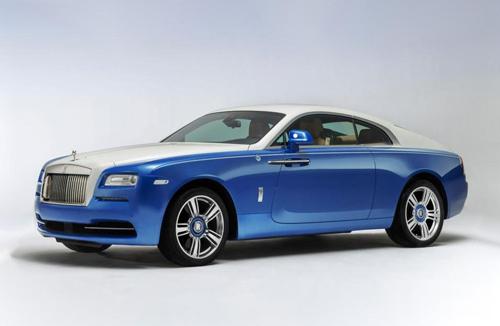 Rolls-Royce Nautical Wraith - du thuyền trên mặt đất 1