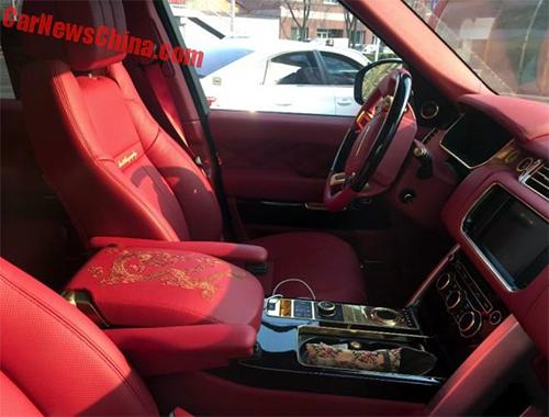 Range Rover phiên bản rồng xuất hiện ở Trung Quốc 3
