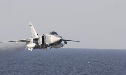 Áp sát tàu chiến Mỹ, Su-24 Nga phát thông điệp đến NATO 1