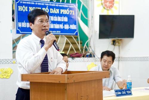 Ông Đặng Thành Tâm, Hoàng Hữu Phước bị loại khỏi danh sách ứng cử 2