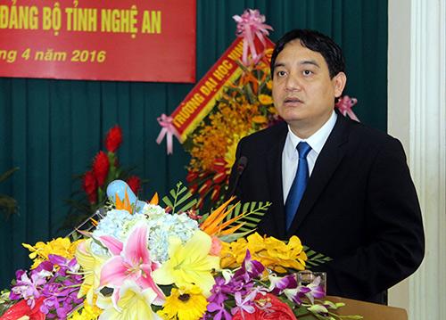 Ông Nguyễn Đắc Vinh làm Bí thư tỉnh Nghệ An 1