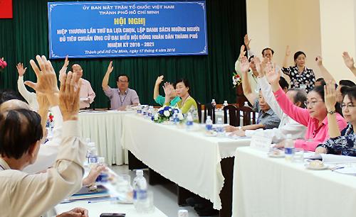 4 người tự ứng cử lọt vào danh sách bầu đại biểu HĐND TP HCM 1