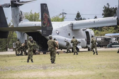 """V-22 Osprey - """"Chim ưng biển"""" thần tốc của quân đội Mỹ 1"""