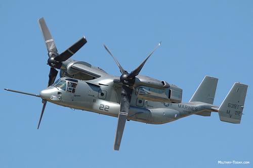 """V-22 Osprey - """"Chim ưng biển"""" thần tốc của quân đội Mỹ 2"""