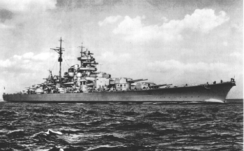 Trận hải chiến hạ gục thiết giáp hạm lớn nhất của phát xít Đức 1