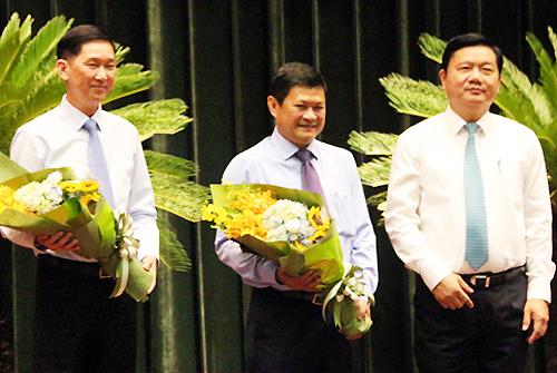 TP HCM có thêm 2 Phó chủ tịch 3