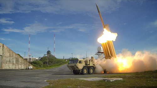 [Caption]hệ thống THAAD
