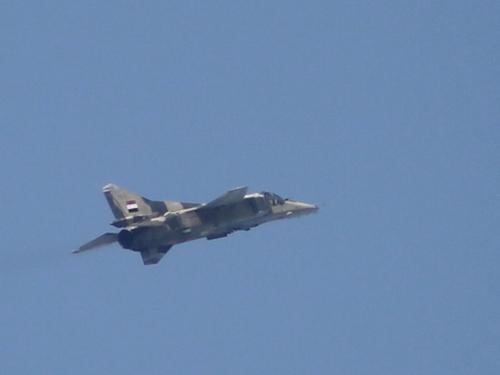 Một chiến đấu cơ Syria. Ảnh minh hoạ: AFP