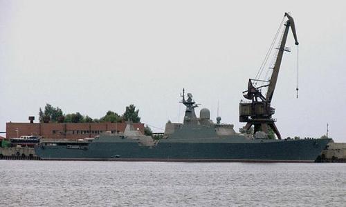 Một tàu khu trục lớp Gepard 3.9. Ảnh: RIA Novosti