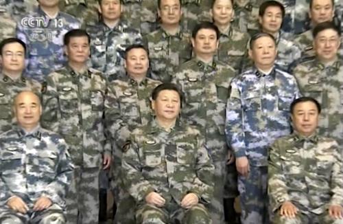Hành trình chế ngự quân đội Trung Quốc của ông Tập 1