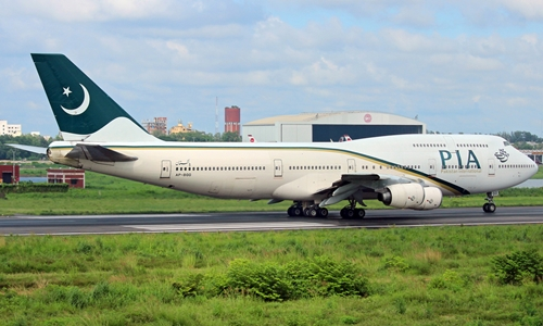 Một phi cơ của Pakistan International Airlines. Ảnh: planespotters.con.
