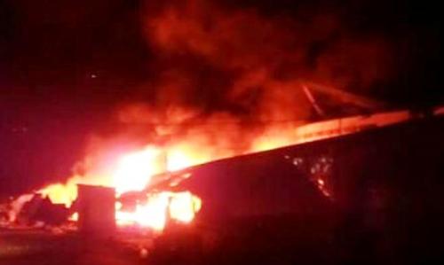 Cháy trung tâm thương mại, thiệt hại hơn 5 tỷ đồng 1