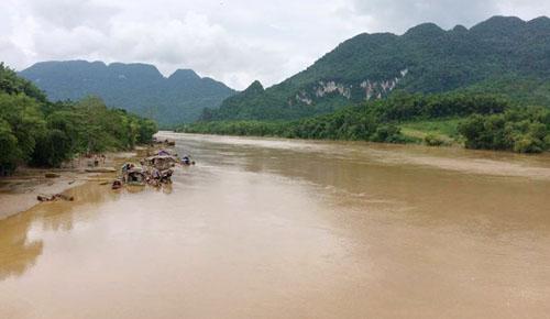 Người phụ nữ mất mạng khi đi đánh cá trên sông Mã 1