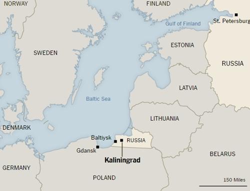 Kaliningrad - chốt Nga chặn đà Đông tiến của NATO 2