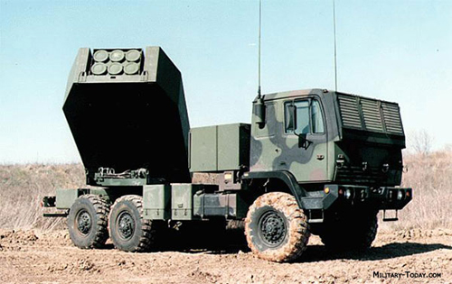 Một hệ thống pháo phản lực M142 của Mỹ. Ảnh: Military Today