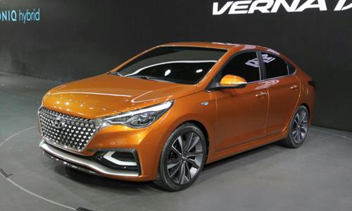 Hyundai Verna Concept front qu 9633 6851 1461645713 Hyundai Accent   Mẫu xe cỡ nhỏ mang thiết kế theo cảm hứng đàn anh