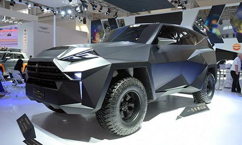 IAT Kalman - SUV khủng Trung Quốc giá 1,9 triệu USD 1
