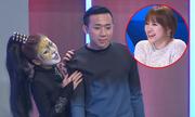 Trấn Thành chết lặng vì bị người đẹp 'sàm sỡ' trước mặt Hari Won