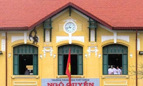 Ngôi trường trăm tuổi mang kiến trúc châu Âu tại Hải Phòng
