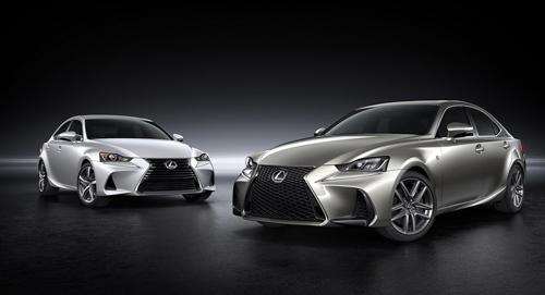 Lexus nâng cấp IS sedan 2017 1