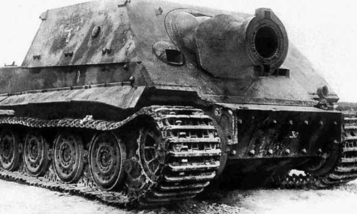 """Sturmtiger, khẩu pháo """"lạy ông tôi ở bụi này"""" của phát xít Đức 1"""