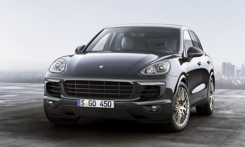 Porsche Cayenne Platinum Edition giá 65.600 USD tại Mỹ 1