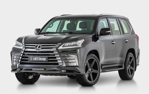 Lexus LX - thêm chất cho SUV hạng sang 1
