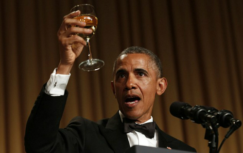 Bữa tiệc đắng của Obama dành cho Donald Trump 1