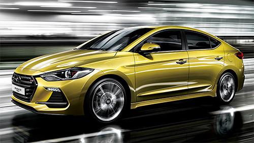 Hyundai Elantar Sport 2017 3 4471 1461948674 Hyundai Elantra Sport 2017   Mẫu sedan phiên bản thể thao nâng cấp