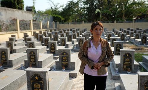 Nơi nằm lại của những người lính ngã xuống trước cửa ngõ Sài Gòn 2