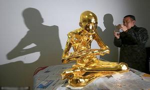 Xác ướp đại sư Trung Quốc được chế thành tượng vàng