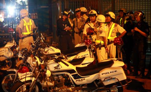 Hàng nghìn cảnh sát bảo vệ người dân TP HCM vui lễ 2