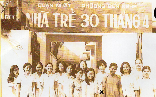 Nhà trẻ đầu tiên ở Sài Gòn mang tên ngày thống nhất 3