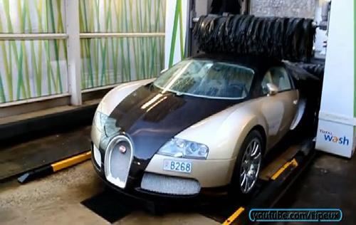 Rửa siêu xe triệu đô kiểu bình dân 1